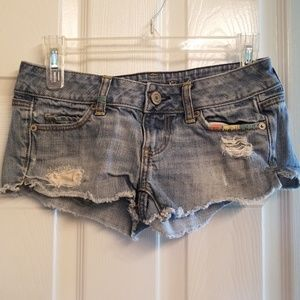 American Eagle outfitters 00 denim short shorts